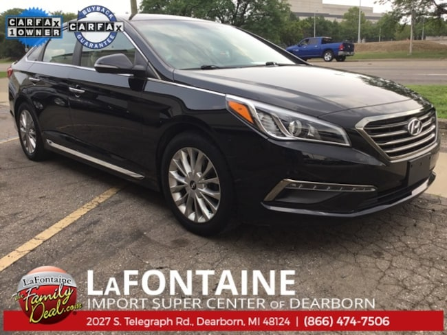 Used 2015 Hyundai Sonata Sedan for sale in Dearborn, MI