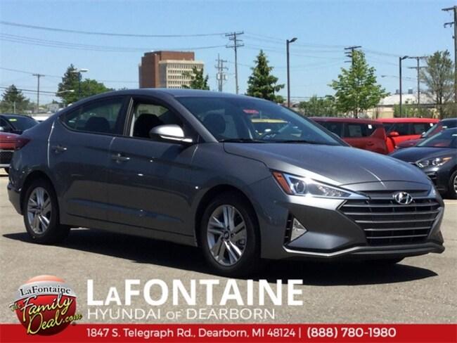 New 2019 Hyundai Elantra SEL Sedan for sale/lease in Dearborn, MI