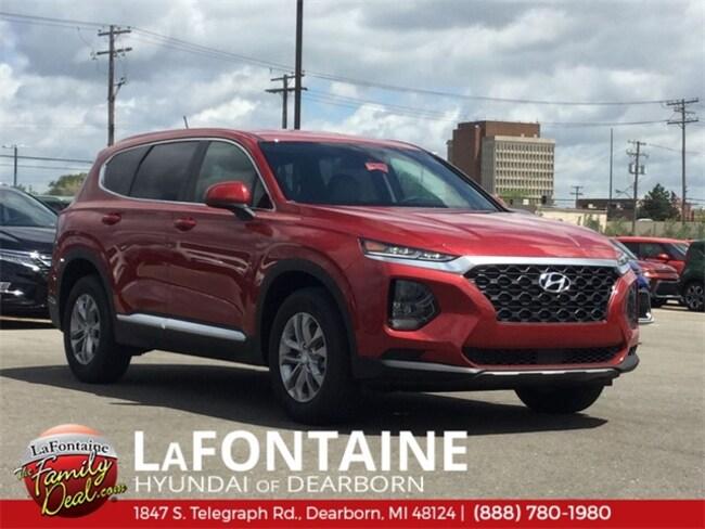 New 2019 Hyundai Santa Fe SE 2.4 SUV for sale/lease in Dearborn, MI