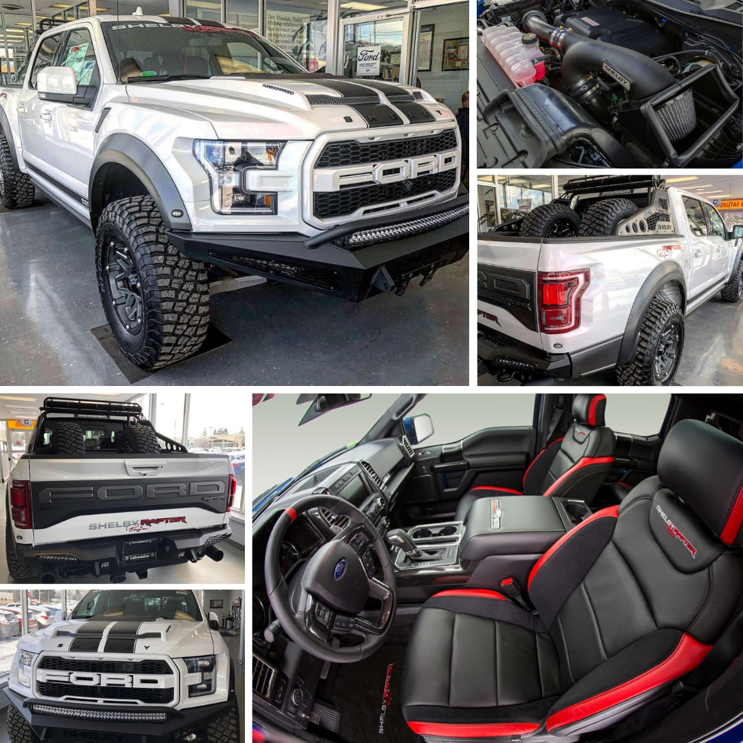 Shelby Ford Truck >> Shelby Baja Raptor Lafontaine Ford Of Lansing