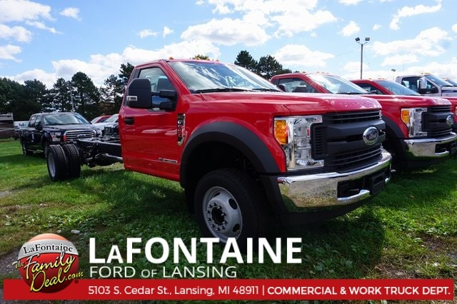 2017 Ford F-550SD Truck