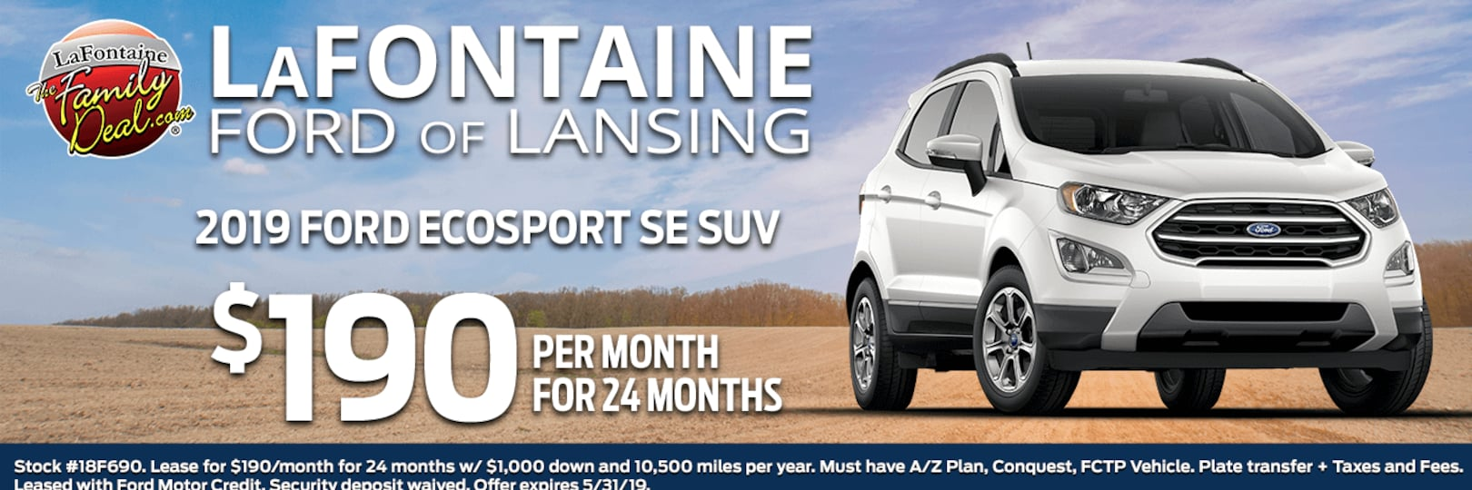 Lafontaine Ford Lansing >> LaFontaine Ford of Lansing | Ford Dealership in Lansing MI