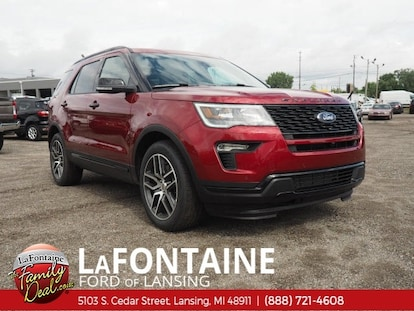 Lafontaine Ford Lansing >> New 2018 Ford Explorer For Sale At Lafontaine Ford Of
