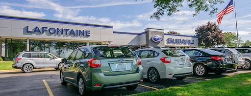 Lafontaine Subaru New Used Subaru Dealer In Commerce Township