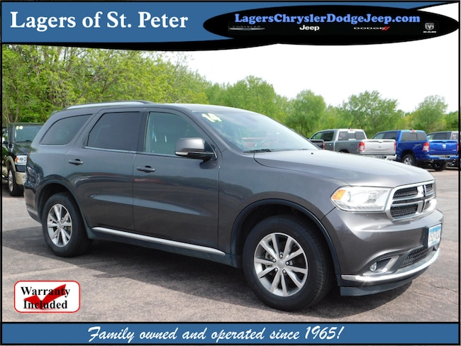 2014 Dodge Durango For Sale >> Used 2014 Dodge Durango For Sale At Lagers Of St Peter Vin
