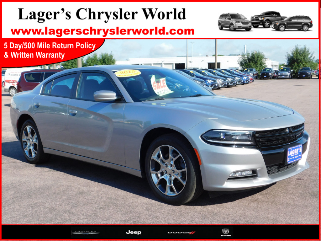 2015 Dodge Charger SXT AWD SXT  Sedan