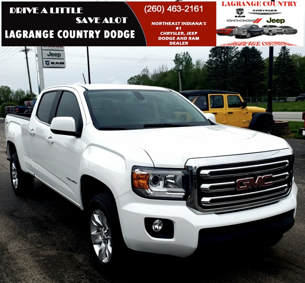2017 GMC Canyon SLE1 Truck F11183