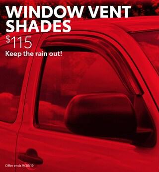 Window Vent Shades