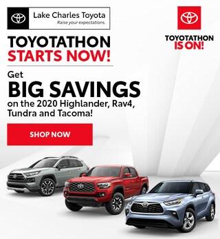 Toyotathon Starts Now