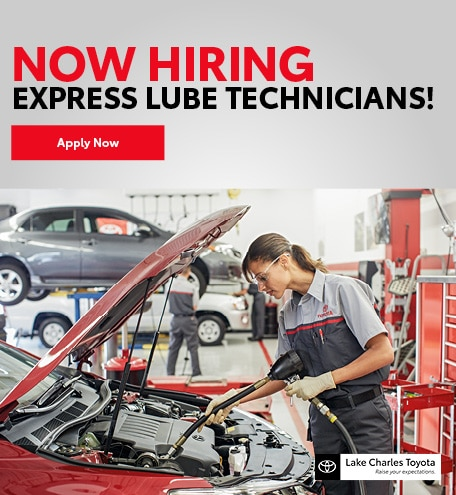 Now Hiring Express Lube Technicians!