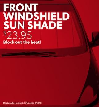 Front Windshield Sun Shade