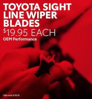 Toyota Sight Line Wiper Blades