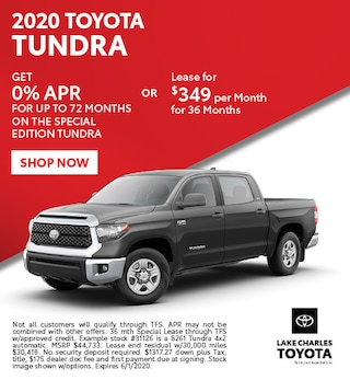 May 2020 Tundra Special