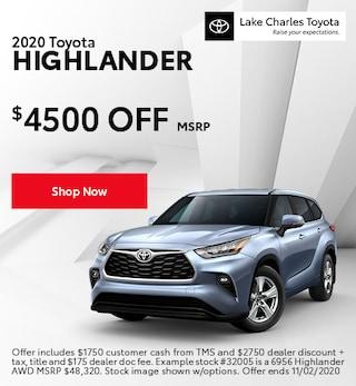 October 2020 Highlander Special