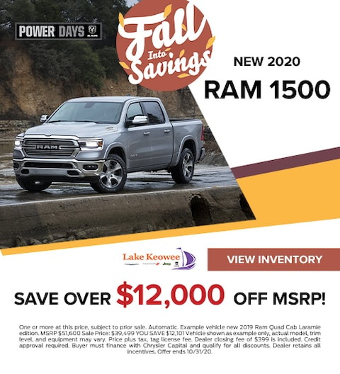 2019 RAM 1500 Laramie Quad Cab SAVE OVER $12,000 of MSRP