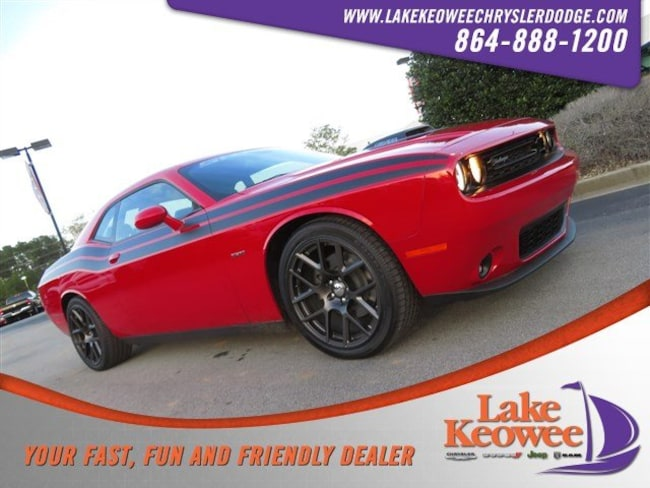 Certified Used 2016 Dodge Challenger 2dr Cpe R/T Shaker Coupe near Greenville SC