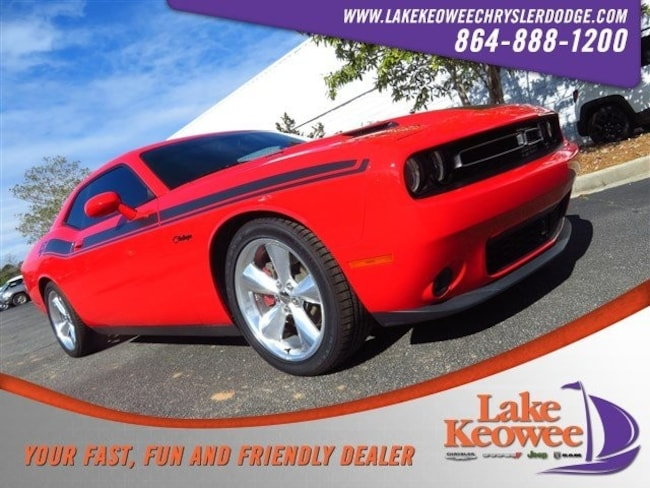 Certified Used 2015 Dodge Challenger 2dr Cpe R/T Plus Coupe near Greenville SC