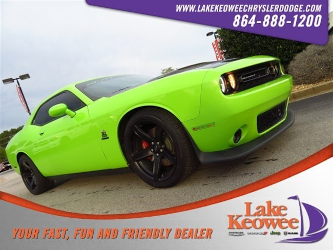 Certified Used 2015 Dodge Challenger 2dr Cpe R/T Scat Pack Coupe near Greenville SC