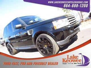 Used 2008 Land Rover Range Rover Sport 4WD 4dr HSE SUV SALSK25498A186131 for sale in Seneca, SC near Greenville, SC