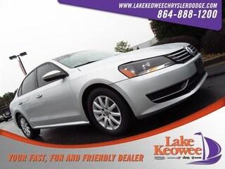 Used 2012 Volkswagen Passat 4dr Sdn 2.5L Auto S w/Appearance Pzev Sedan 1VWAP7A39CC063504 for sale in Seneca, SC near Greenville, SC