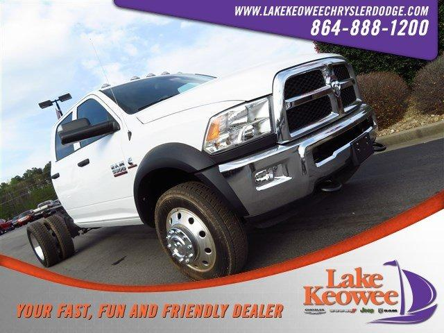 Featured New 2018 Ram 5500 Chassis Cab 5500 TRADESMAN CHASSIS CREW CAB 4X4 173.4 WB Crew Cab for sale near Greenville