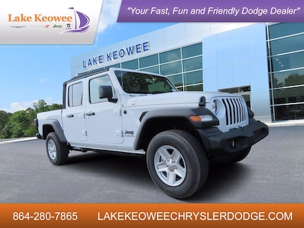 Featured Used 2020 Jeep Gladiator Sport S Sport S 4x4 for Sale in Seneca SC