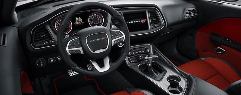 2017 Dodge Challenger Interior