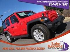 2018 Jeep Wrangler UNLIMITED SPORT S 4X4 Sport Utility for sale in Seneca, SC