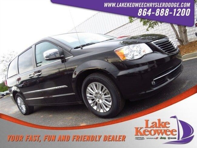 Certified Used 2015 Chrysler Town & Country 4dr Wgn Limited Platinum Minivan/Van near Greenville SC