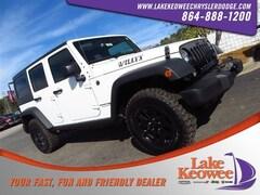 New 2018 Jeep Wrangler Unlimited WRANGLER JK UNLIMITED WILLYS WHEELER W 4X4 Sport Utility in Seneca