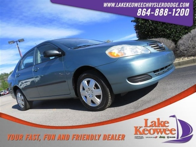Used 2007 Toyota Corolla 4dr Sdn Auto CE Sedan in Seneca, SC near Greenville
