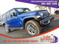 New 2018 Jeep Wrangler UNLIMITED SAHARA 4X4 Sport Utility in Seneca