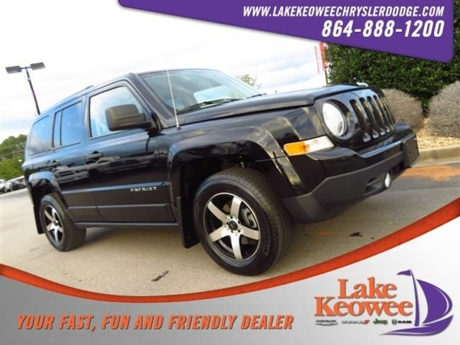Certified Used 2014 Jeep Patriot FWD 4dr Sport SUV near Greenville SC