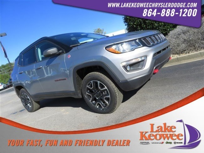 New 2019 Jeep Compass TRAILHAWK 4X4 Sport Utility in Seneca, SC near Greenville, SC
