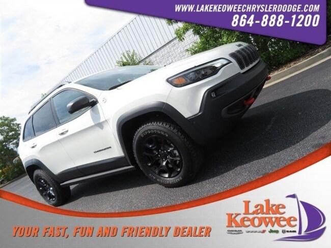 New 2019 Jeep Cherokee TRAILHAWK ELITE 4X4 Sport Utility in Seneca, SC near Greenville, SC