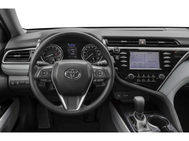 Interior of a New Toyota