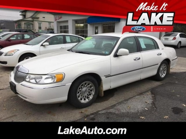Used 1998 Lincoln Town Car For Sale Lewistown Pa
