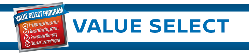 value select banner