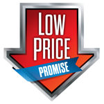 low price guarantee logo
