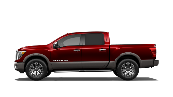 New 2018 Nissan Titan truck for sale at Council Bluffs Nissan dealership near Lincoln
