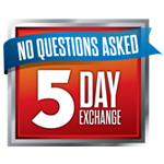 5-day exchange policy logo