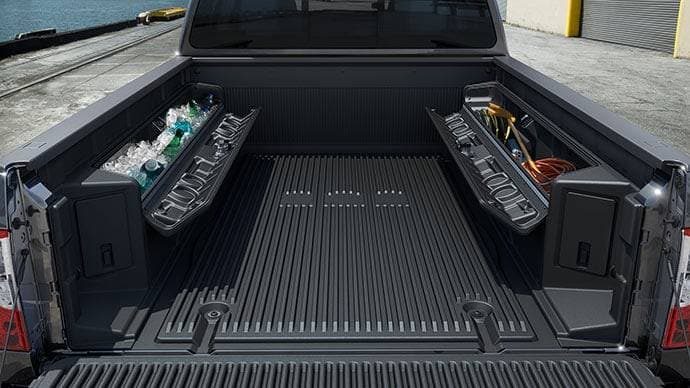 2017 Nissan Titan available truck bed Titan® box