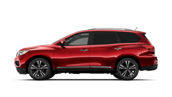 New 2018 Nissan Pathfinder SUV for sale at Council Bluffs Nissan dealership near Papillion