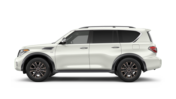 New 2018 Nissan Armada SUV for sale at Council Bluffs Nissan dealership near Fremont