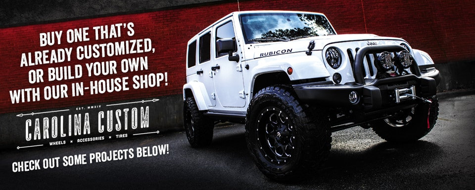 Build Your Own Jeep >> Build Your Own Custom Jeep In Cornelius Nc Lake Norman Jeep