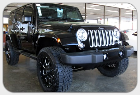 Superb 2016 Jeep Wrangler Unlimited Sahara 3 Inch Zone Lift 20 Inch Fuel Cleaver  Wheels 35 Inch Toyo R/T Tires
