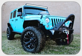 2017 Jeep Wrangler Unlimited Rubicon 3 Inch Zone Lift 20 Inch Fuel Assault  Wheels 35 Inch Toyo M/T Tires 50 Inch Heise LED Light Bar W/Mount Dual  Exhaust