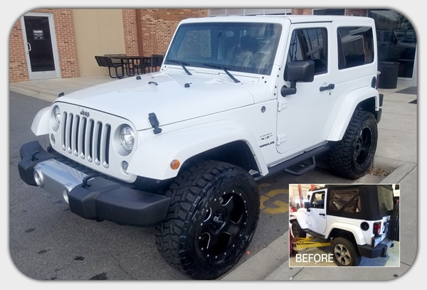 Build Your Own Custom Jeep In Cornelius Nc Lake Norman Jeep