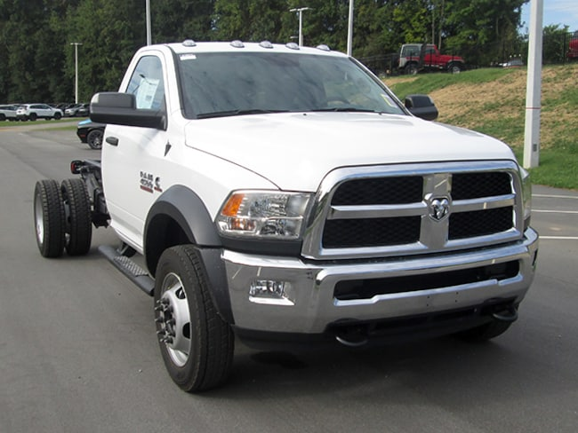 New 2018 Ram 4500 Chassis Tradesman Regular Cab for sale near Charlotte