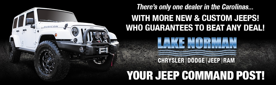 Lake Norman Jeep >> Lake Norman Chrysler Dodge Jeep RAM | Cornelius, NC Car Dealer
